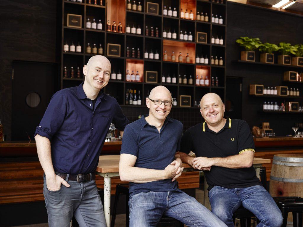 Four Pillars Gin Founders